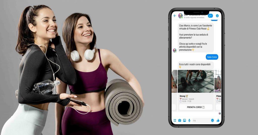 Leo chatbot Centro Fitness