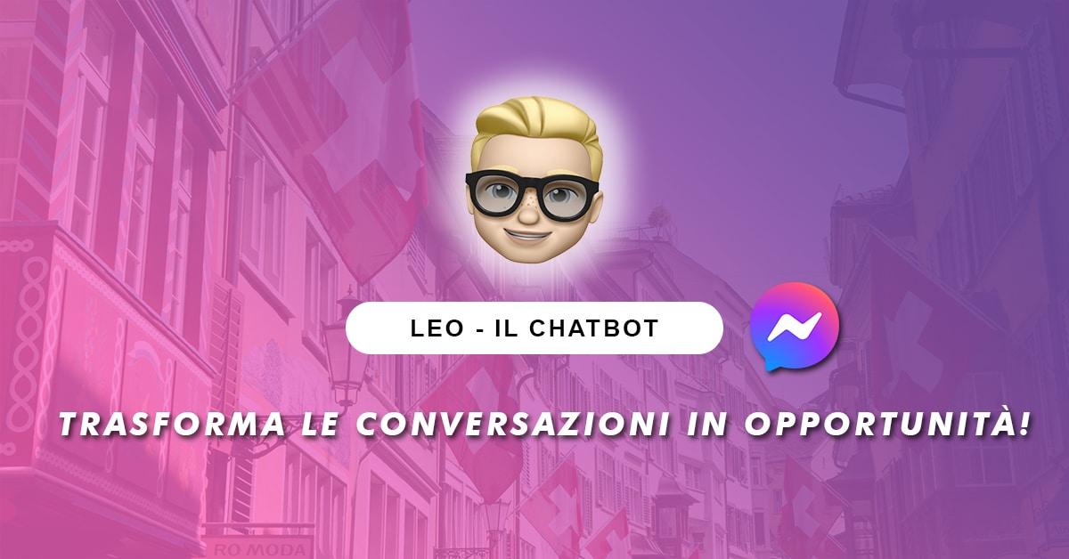 Leo Chatbot - Caso Studio Svizzera